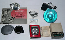 Vintage Polaroid Land Camera Accessories #625 Light Meter Flashes, 95A Manual (t