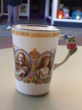 VINTAGE PARAGON CHINA SILVER JUBILEE 1910-1935 KING GEORGE V COMMEMORATIVE  MUG