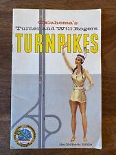 Vintage Brochure Oklahoma's Turner & Will Rogers Turnpikes 1957 Native American