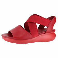 Camper Balloon Medium Red Womens Wedges Size 36M