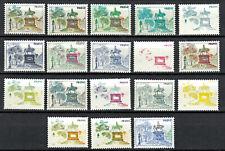 Probedruck Test Stamp Specimen Prove Reiterstandbild 1980 / 1985  18 Stück