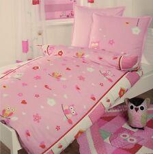 Linge de lit Litterie Coussin pour Tête Chouette Filles Enfants coton patchwork