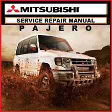 MITSUBISHI PAJERO - NG NH NL NM NP SERVICE REPAIR WORKSHOP MANUAL 1990-2006