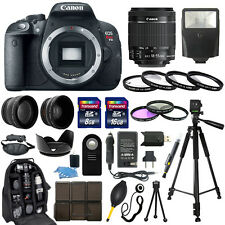 Canon EOS Rebel T5i SLR Camera + 18-55mm STM Lens + 30 Piece Accessory Bundle