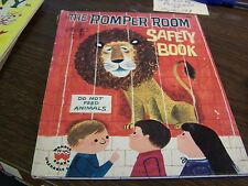 WONDER BOOKS - THE ROMPER ROOM SAFETY BOO - #854 - 1965