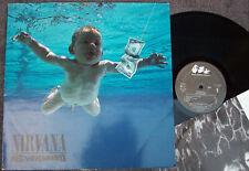 NIRVANA NEVERMIND 1991 Holland Vinyl LP GRUNGE KURT COBAIN DAVE GROHL ROCK