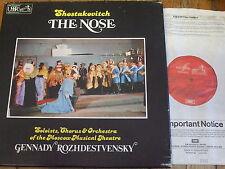 SLS 5088 Shostakovich The Nose / Rozhdestvensky 2 LP box