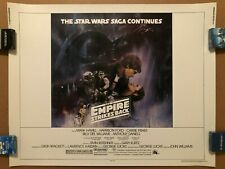 STAR WARS EMPIRE STRIKES BACK 1980 HALF SHEET MOVIE POSTER ORIGINAL GWTW STYLE A