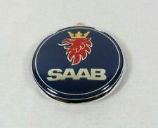 Saab 93 Hatchback Emblem 99-02 Rear Trunk Blue Badge 9-3 back sign symbol logo (Fits: Saab)