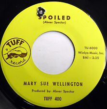 MARY SUE WELLINGTON 45 Spoiled / Save A Little...TUFF label Northern SOUL e3986