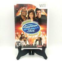 Karaoke Revolution Presents American Idol Encore 2 Nintendo Wii Complete Mint