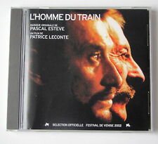 L'HOMME DU TRAIN - PASCAL ESTEVE - Hallyday couverture (BO,OST) - CD