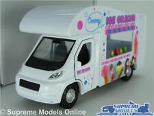 FIAT DUCATO MODEL ICE CREAM VAN 1:43-1:50 SCALE WELLY MOBILE SHOP PROMO K8
