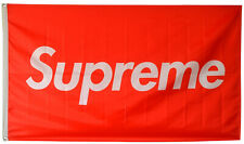 Supreme Flag Skate Boards Red Box 3X5FT Banner US Shipper
