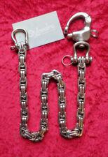 Geldbeutelkette Hosenkette Edelstahl Wallet Chain Biker Rockabilly Gotik 55/14cm