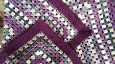 Handmade Striped Afghans & Throws