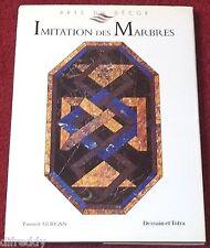 Imitation des Marbres, Arts du Décor, Décoration, Pierres, Couleurs, Guegan