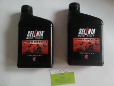 OLIO SELENIA 2 LITRI POWER-SPEED 4T SAE 10W-40 PIAGGIO LIBERTY-APRILIA