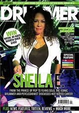DRUMMER Magazine #124 1/2014 UK Drum SHEILA E. Pete Lockett JAIMEO BROWN @New@