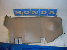 2004 Honda Civic 2dr coupe EX passenger right tan lower dash cover panel