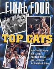 Sports Illustrated KENTUCKY WILDCATS 6 NCAA Titles Article Entire SI Issue
