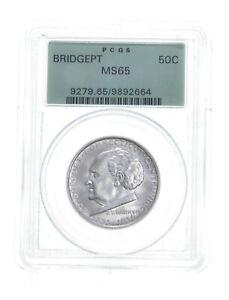 MS65 1936 Bridgeport Connecticut Centennial Commemorative Half Dollar PCGS *4815