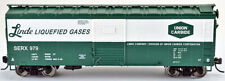 Bowser HO Scale 40' Boxcar - Linde Liquefied Gases #987