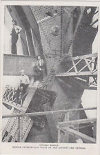 Quebec bridge construction workers , 1910s