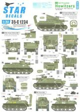 Star Decals 1/35 Self Propelled Howitzers in Normandy & France 1944