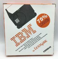 IBM Lexmark Easystrike High Yield Correctable Ribbon Black Cassette 1299845