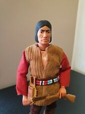 Vintage The Lone Ranger Rides Again Red Sleeves Action Figure Marx Gabriel 1975