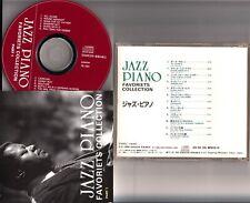 PB-1601 *JAPAN* JAZZ PIANO FAVOURITES CD 1994 inc Bill Evans Waltz for Debby