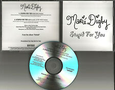MARIE DIGBY Stupid for you RARE ACOUSTIC TRK & RADIO version PROMO DJ CD Single