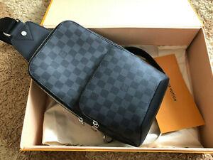 Louis Vuitton Avenue Sling Bag Damier Graphite N41719