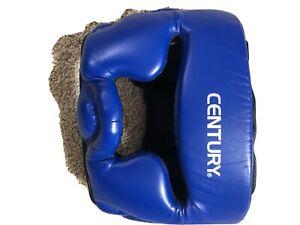 New Century Brave Headgear Martial Arts Head Protector Size L/XL Navy/Grey