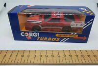 Corgi Chevrolet Camaro Goodyear Diecast Model Car red turbo Car 1:43 rare boxed