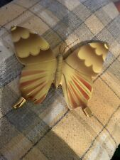Stunning Vintage  Butterfly Wall Plaque