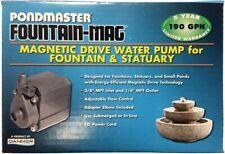 Pondmaster Pond-Mag Magnetic Drive Utility Pond Pump - Model 1.9 (190 Gph)