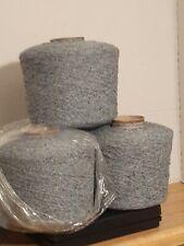 Hilado de lana tejida de Axminster Alfombra Tejido 500 Cono Avena Marrón trama urdimbre Alfombra batir