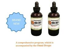 BRAND NEW - OMNITRITION-Omni-Drops-Weight-Loss Program - 2 bottles FREE SHIPPING