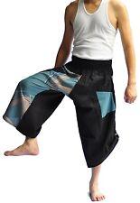 Thai fisherman pants Yoga Harem State grey Japanese pants cotton, Free size