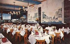 Postcard Kerhulu Grand Restaurant Francais Quebec Canada