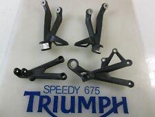 Triumph Daytona 675 Fourche précharge Ajusteur Kit Rouge A9640032