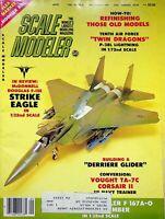 Vtg Scale Modeler Magazine September 1983 McDonnel Douglas F-15E  Eagle m89