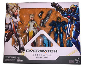 Overwatch Hasbro Ultimates Series PHARAH AND MERCY Dual Pack Action Figures