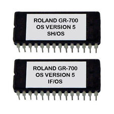 Roland GR-700 Firmware Latest OS version 5 eprom update GR700 Synth Guitar
