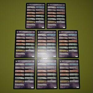 Double Faced Transform Card Checklist x8 Dark Ascension 8x Magic the Gathering