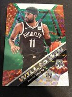 2020 Mosaic | KYRIE IRVING | Will to Win | Green Prizm | Nets