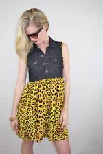 Unbranded Animal Print Shirt Dresses