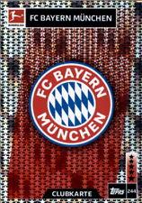 Topps Match Attax 18/19 - 244 - Clubkarte - FC Bayern München